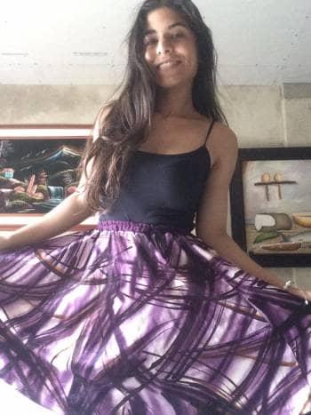 Falda top