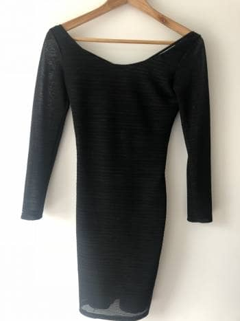 Vestido negro studio f