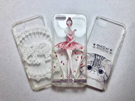 3 Forros para iPhone 5-5S
