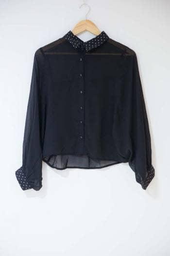 Camisa casual manga larga