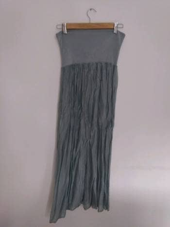 Falda pliegues talla M