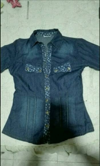 8b959424e6606 Linda camisa color azul jean - GoTrendier - 246683