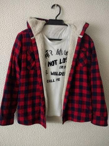 Duo chaqueta unisex+ camiseta gef