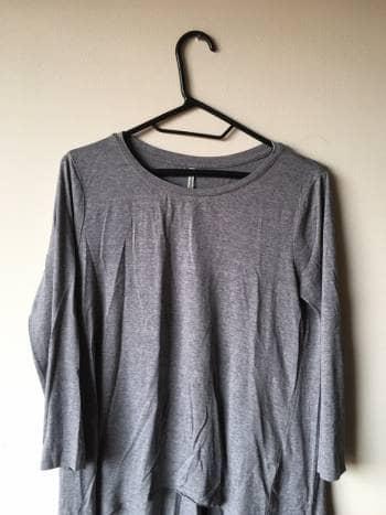 Camiseta cola de pato basica STRADIVARIUS