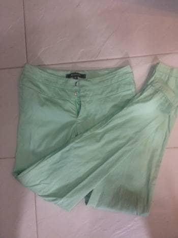 Pantalon verde menta