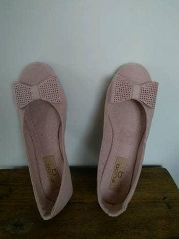 excepcional gama de estilos precio precio baratas Baletas color palo de rosa
